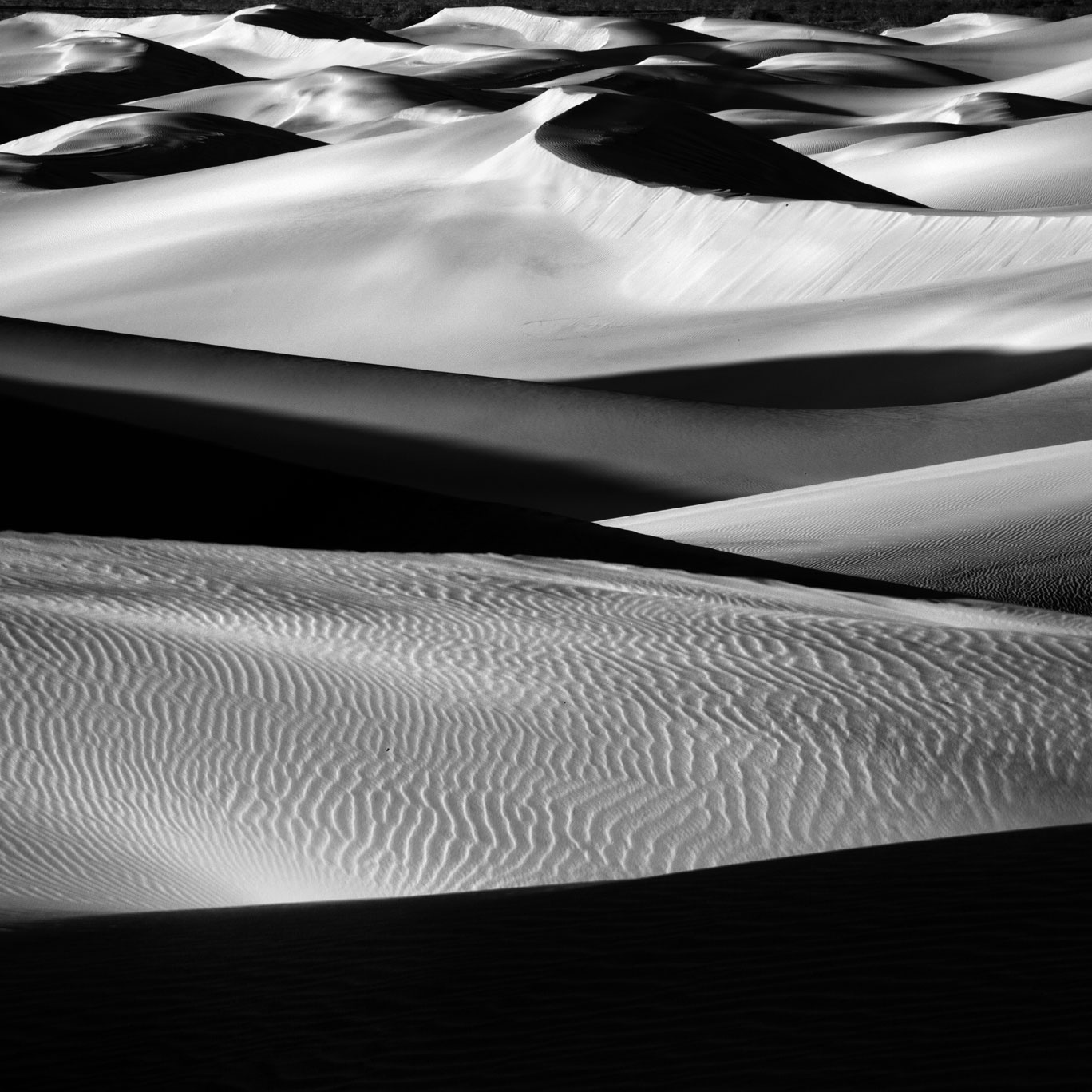 Mesquite Flats Sand Dunes, Death Valley