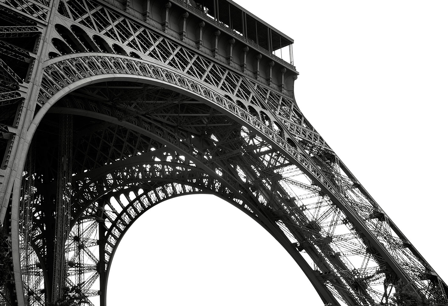 Detial of the  Eiffel Tower 1 of 10