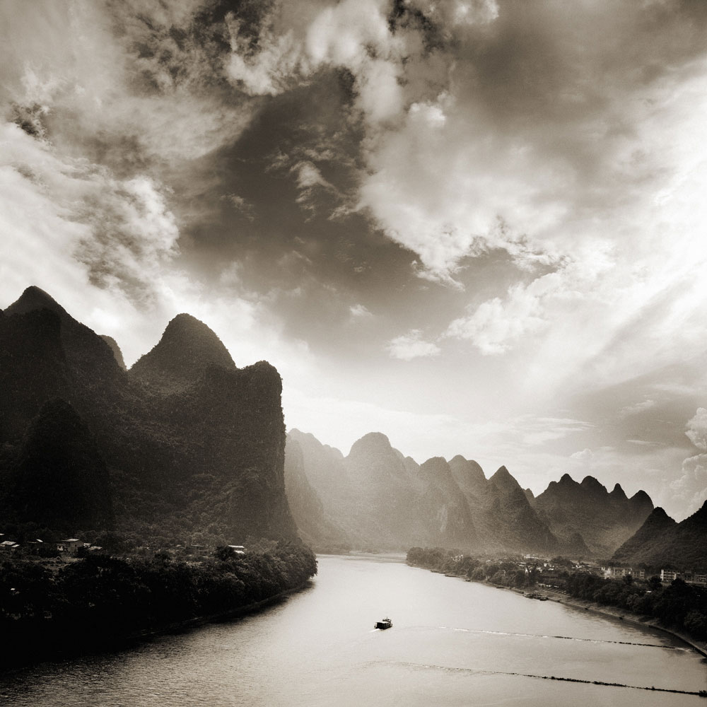 Sunrise on Li River II, Guilin, China