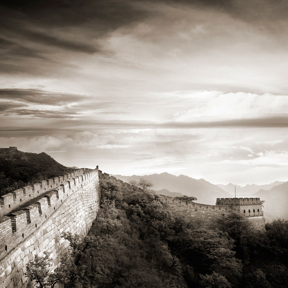 Sunrise on Great Wall at Jin Shan Ling, II  , Beijing, China